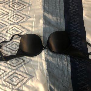 Bombshell plunge bra black